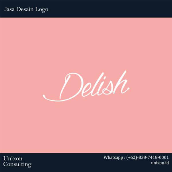 Jasa desain logo delish di gading serpong