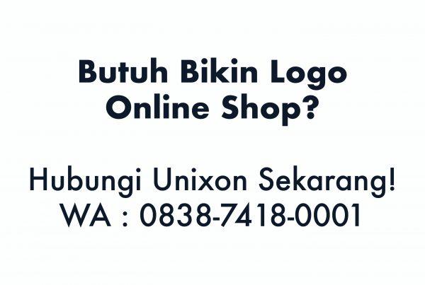 bikin logo online shop