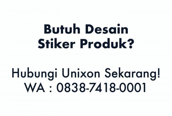 Desain Stiker Produk