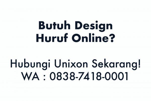 design huruf online
