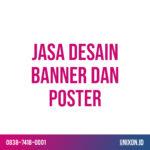 jasa desain banner dan poster