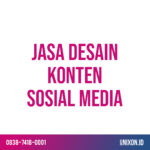 jasa desain konten sosial media