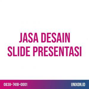 jasa desain slide presentasi