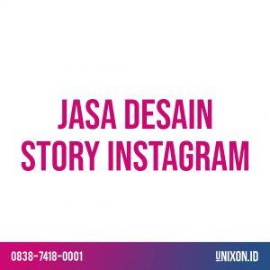 jasa desain story instagram