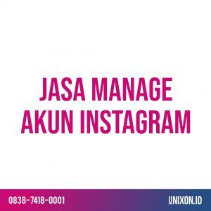 jasa manage akun instagram