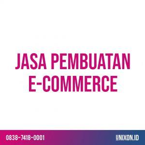 jasa pembuatan e-commerce