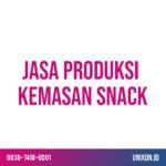 jasa produksi kemasan snack