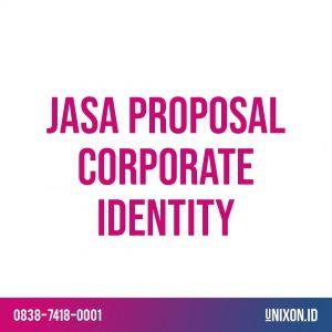 jasa proposal corporate identity