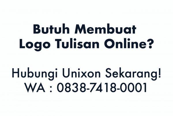 Membuat Logo Tulisan Online